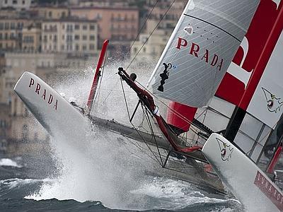 Vittoria America's Cup Napoli Aprile 2012 Lunarossa