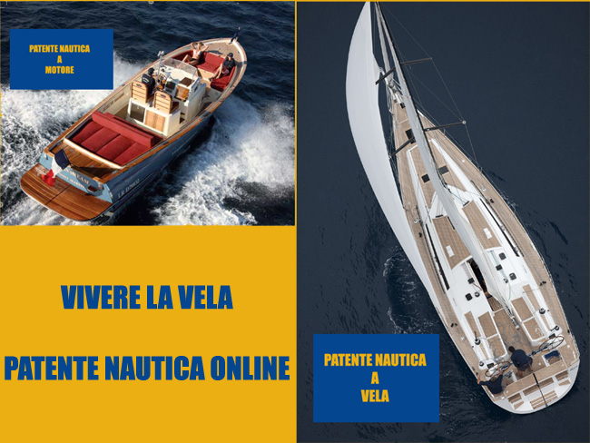 PATENTE ON LINE NAUTICA VELA E MOTORE